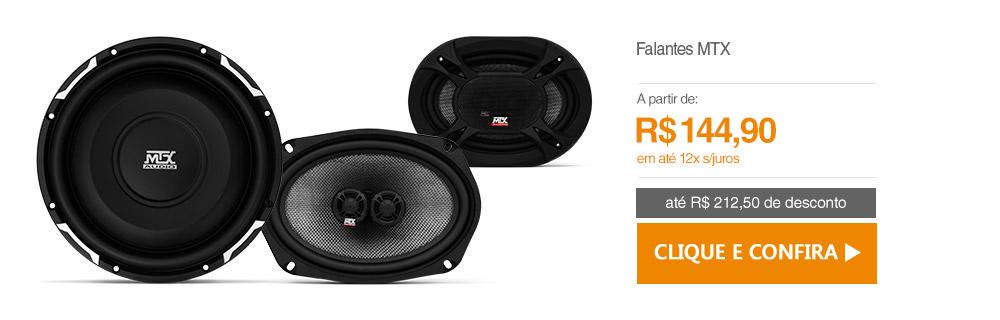 Falantes MTX Audio
